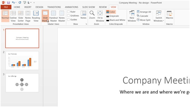 How to add your logo to all slides in PowerPoint 2013